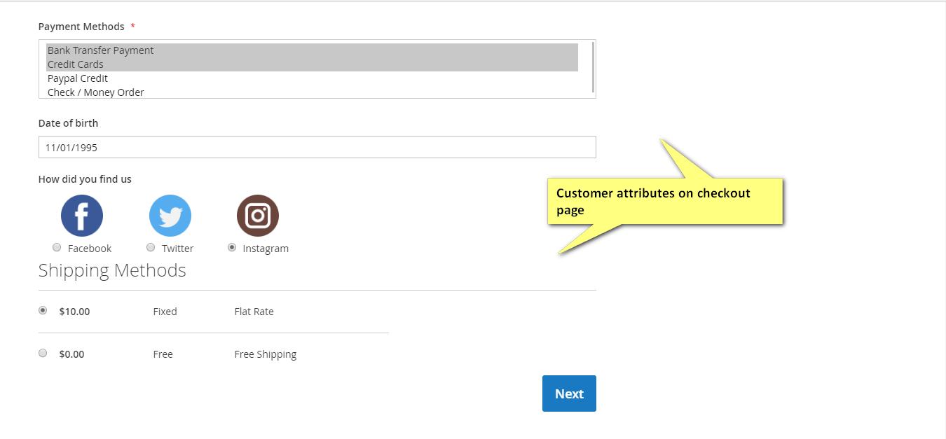 customer attributes magento 2 extension