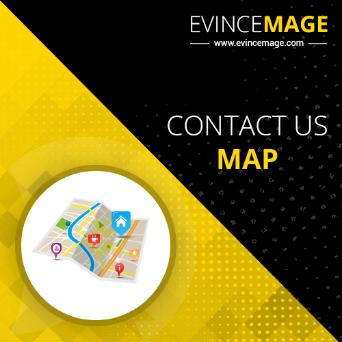 Contact Us Map for Magento 1