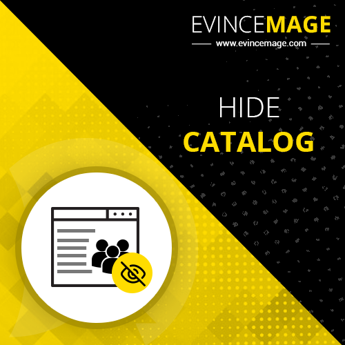 Hide Catalog Magento 2 Extension