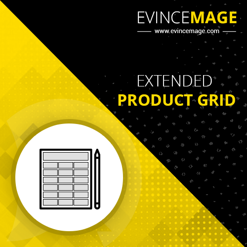 magento 2 extended product grid extension