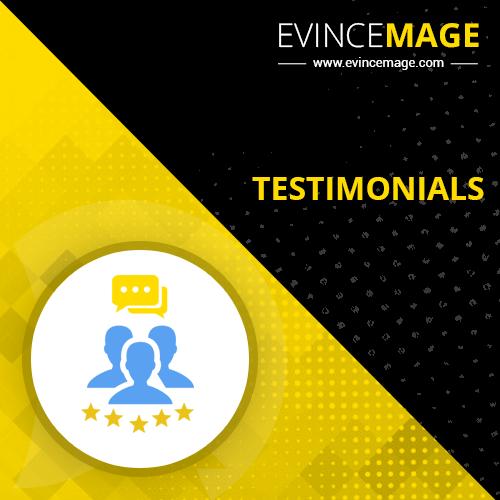 Testimonials Magento 2 Extension