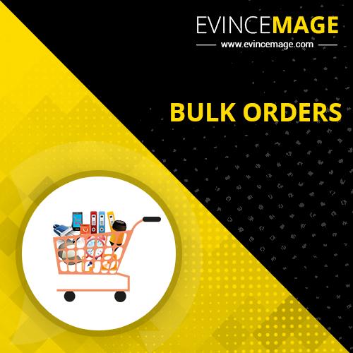 Bulk Orders for Magento 1