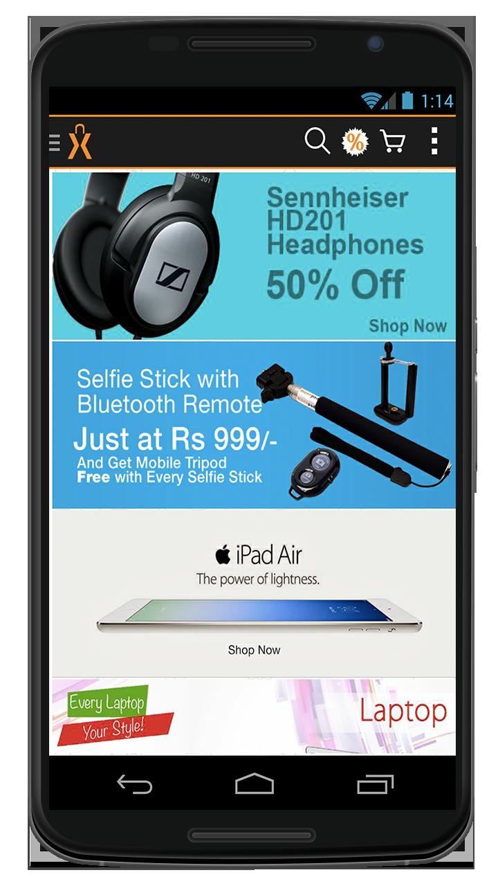 Home Page using Mobile API