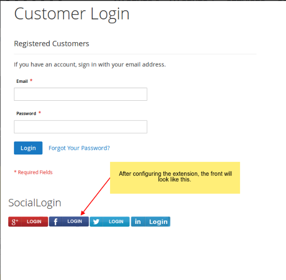 social login magento 2 extension